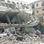 MORE DESTRUCTION & DEATH...14 Civilians killed in Saada by 11 Airstrikes hitting non military targets #Yemen #اليمن http://t.co/jaHc1jJIBj