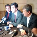 En conferencia de prensa junto a @AdolBermejo, @UrtubeyJM y @PacoPerezMza http://t.co/SsrkdWpgXp