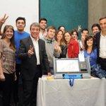 Gracias a todos los jóvenes presentes en la presentación del Voto Electrónico en la @uncuyo http://t.co/zklAcr3qFF