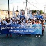 Ya comenzamos la caminata de la victoria en la Santa Rosa. Este 7 de junio gana @PanYucatan @MauVila @victorlozanop http://t.co/Beh6xiqQ7u
