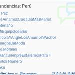#DianaSiempreEstaremosParaTi acaba de convertirse en TT ocupando la 8ª posición en Perú #trndnl http://t.co/oteyp9svWR