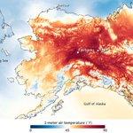 """@billmckibben: Insane heat in Alaska- records toppling like snowmen in May http://t.co/OTAMIk1YZJ http://t.co/RdyIHzEJuB"" & Ireland is cool"