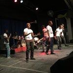 A la découverte de tous ces talents de la jeunesse #kenbeTètOu #CampagneEducationCivique http://t.co/5Id614K539
