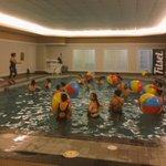 The fun has just begun... Beach ball fun! #yelpfitclubYEG #macmemories http://t.co/ndH82WnVxr