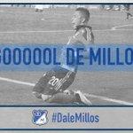 60 ¡Gol de @FUribe20! #DaleMillos http://t.co/e1LG4loXZj