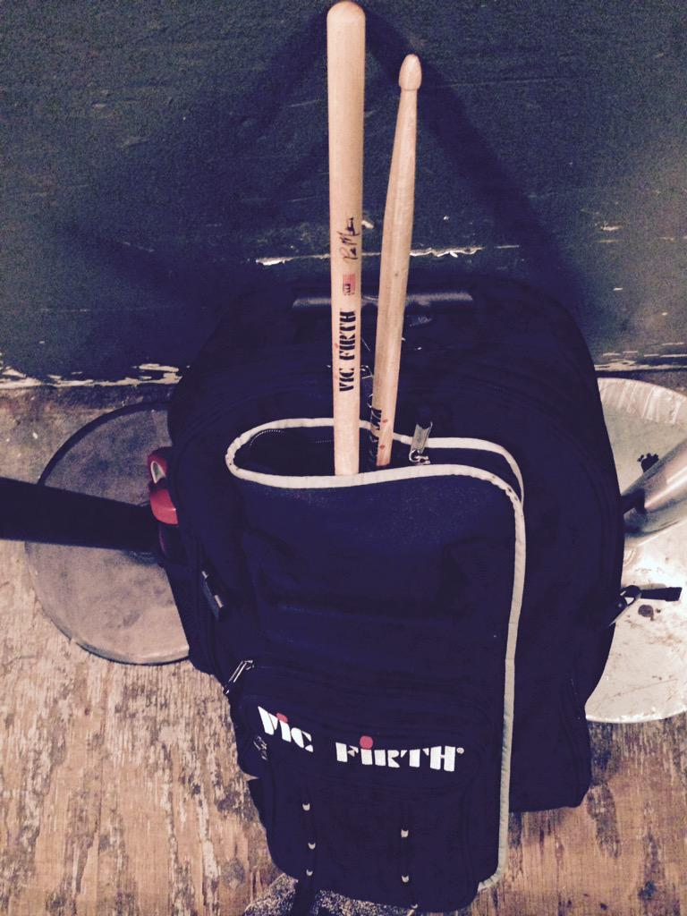 Back to school | @vicfirth #nyc http://t.co/ELnySzI0Fv