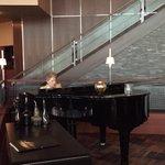 Wonderful June Tonkin is gracing us with piano classics @ElGauchoSteak #BJBF2015 http://t.co/NRKu0kwrwn