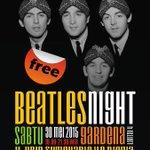 #jogja @Beatles_YK: 30/5/15 19.00 Beatles night di Gardena Jl.Urip Sumoharjo Jogja | Free http://t.co/vCBqzNAR5Y