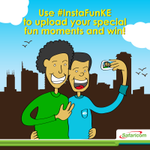4G is now available thanks to Safaricom, to win 2k airtime post your pics & videos with #InstaFunKE on Instagram! http://t.co/Hm1HBqIEcZ
