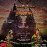 FREE u/ UMUM 30/5/15 18.00 Pentas Tari Kolosal Nusantara di Kampus 2 UNRIYO http://t.co/yNrAQjXV64 -@Muflih_Ns