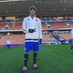 Reconocimiento Del Estadio VamosColombia🇨🇴🇨🇴 Se acerca un día especial 👍✌️ De la mano de Dios 🙏🙏😇 at Waikato Stadium http://t.co/tqPElsNj8x