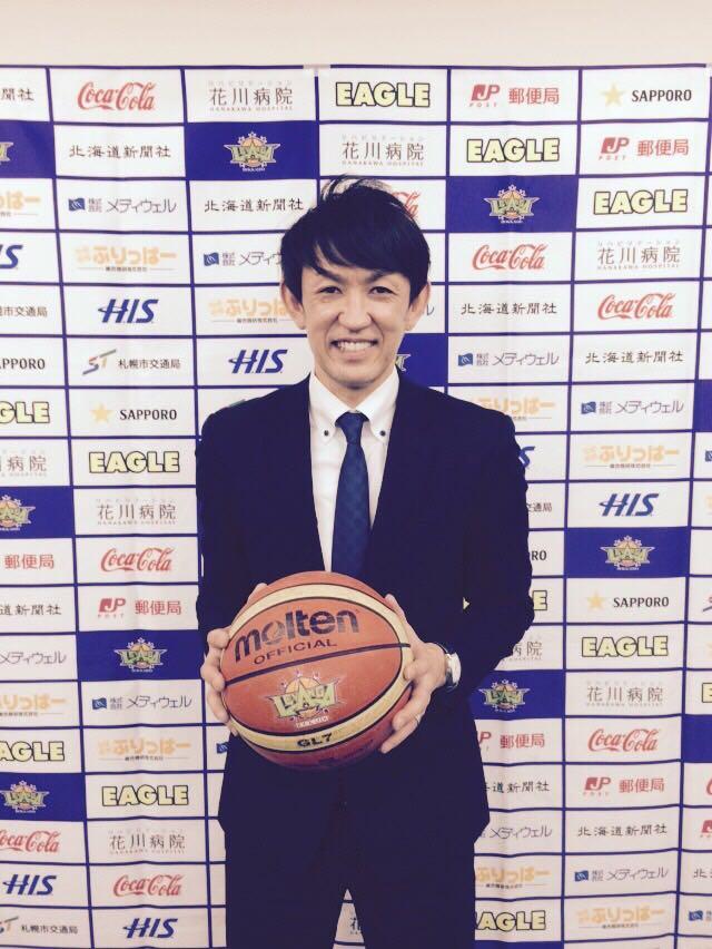本日、2015-2016seasonレバンガ北海道との選手契約をさせて頂きました。今シーズンも皆様、応援宜しくお願い致します! http://t.co/nGVQwMv4kA
