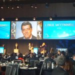 Presented by @GlobalBC we induct J. Paul McConnell! Longtime voice of the @BCLions and @CKNW #2015BOC http://t.co/Mkkw5QGpRv