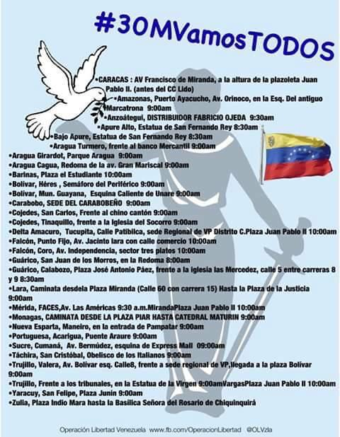 #30MVamosTodos #Maracay #Aragua #Venezuela #LiberenALosPresosPoliticos http://t.co/FUxzwEiPqv