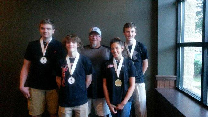 Hough High School bowling team takes  1st place in Piedmont High School bowling club. @HoughAthletics @HoughHighNews http://t.co/h4S9HK9gjd