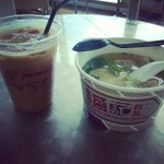 #Singapore #Changi Instagram by @jeward25 - Hk wanton noddles & Yeung Wang iced drink.???????? #hotandcold#singapore #ma… http://t.co/W82eAI7qrO