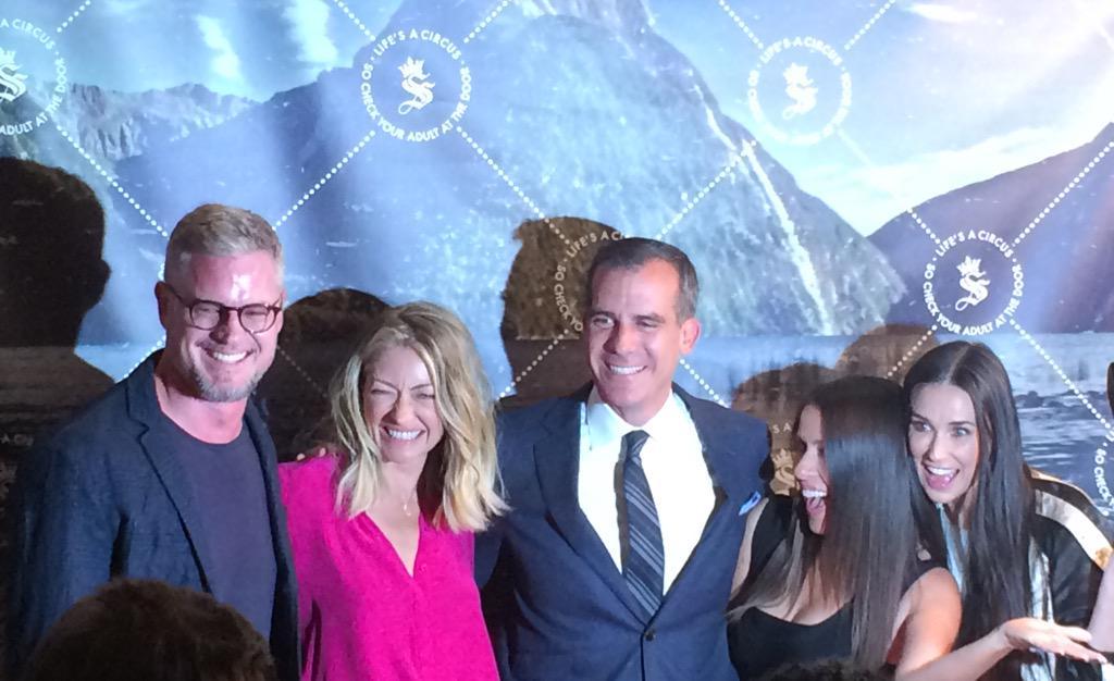 RT @LATechDigest: Eric Dane, Rebecca Gayheart, @ericgarcetti @moonfrye & @justdemi at the @seedling LA launch http://t.co/33upjgZvlP