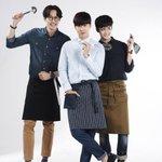 東方神起 ユノ、チョ・ユヌ、ペク・ジョンウォン、ウェブドラマ「あなたを注文します」ポスター撮影現場。 http://t.co/yT0lBcOPs2