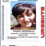 Es Raquel Hermosilla, tiene 40 años y ha desaparecido en #Vitoria. Su familia pide ayuda ¡Pásalo! http://t.co/wuSCAbHcBJ