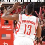 James Hardens NEW jersey. #Rockets http://t.co/gGU003u61S