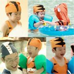 "#SeoEon and #SeoJun Transform into Tiger Swimmers on ""#SupermanReturns"" http://t.co/FIOrTsiH57 http://t.co/FijQ6ItncS"