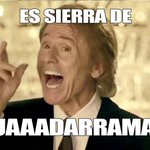 Ojalá nos lo hubiera cantado así Rafael #essierradeguadarrama http://t.co/BPKJbZPktE