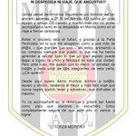 @P_Pecholata @Merida_AD Ni despedida ni viaje. Q angustia!!! FORZA MERIDA!!! http://t.co/442IzCp1YS
