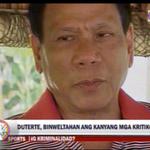 #TVPatrol Duterte, giniit na walang sasantuhing kriminal at tiwaling opisyal http://t.co/KDh8iprqug