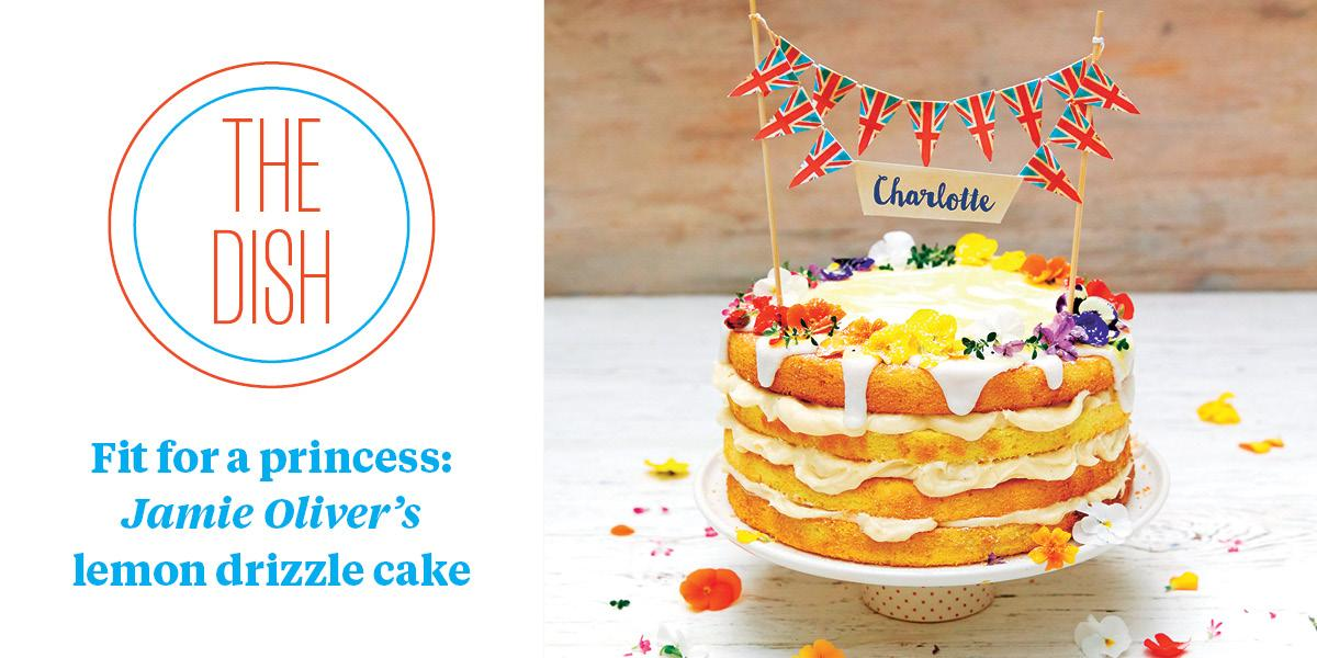 """RT @SundayTimesFood: """"You're guaranteed smiles all round"""" – @jamieoliver's cake for any special occasion http://t.co/FaEih5pZvM http://t.co…"""