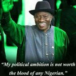 For the first time in Nigeria, Nigerians has finally realized that Politics is never a do or die affair #DemocracyDay http://t.co/22suAEobgd