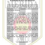 Muchas GRACIAS @MBelen_F,tu sentimiento es compartido por muchos respecto al @Merida_AD y sus peñas @federacionmerid http://t.co/fpY4mvYKl7