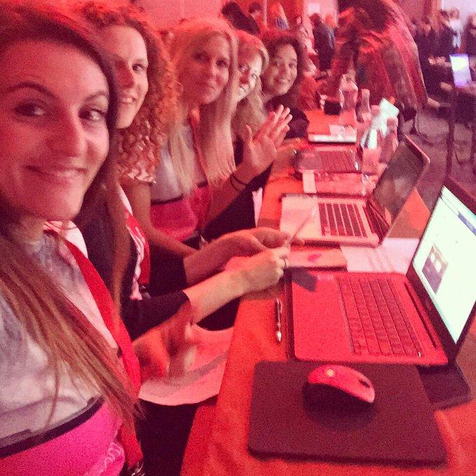 Toppers!! #TEDxAmsWomen bloggersteam http://t.co/rdtG0d1vQ1