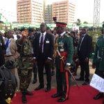 Seats please... In Abujas Eagle Square for #Nigeria #Inauguration2015 of M.Buhari. http://t.co/zyuEpc4jaa