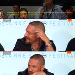 Tom Hardy had the greatest reaction to a journalist asking about Mad Max http://t.co/mpJx6xhn0p http://t.co/Q63LWOyQjM