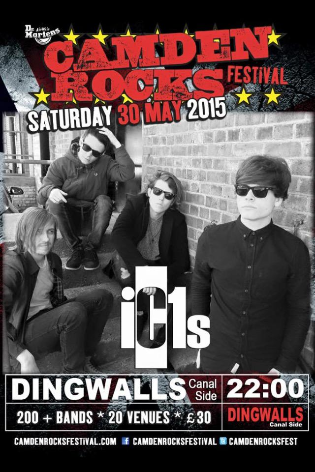 Tomorrow. 10pm. @DingwallsClub for @CamdenRocksFest this will be the best show of the day. Fact! http://t.co/zPXYdIiH3M