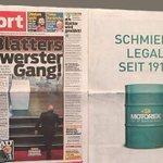 """""""Schmiert legal seit 1917"""": Die großartige Anti-Fifa-Werbung von Motorex http://t.co/ASe6N7LAvi http://t.co/PTscEleCvT"""