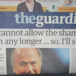 This pretty well sums up the farce going on in Zurich today. @guardian #BlatterOut http://t.co/R00VeDFZm0