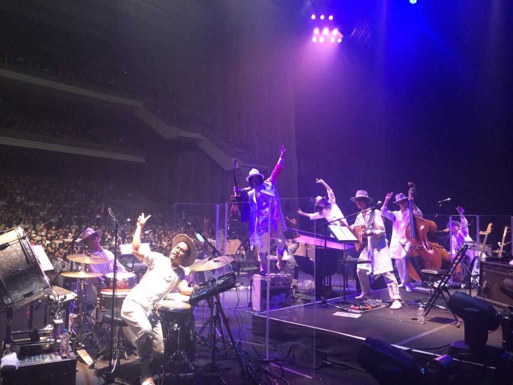 大橋トリオ L 大阪ライブ中なう! http://t.co/wNz4nQ1vz8