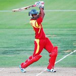 #PAKvZIM 50 up for Zim, coming in the 13th over.@chamulaw the aggressor,hes quickly moved to 40* #cricketthewinner http://t.co/mLAj4bnhT0