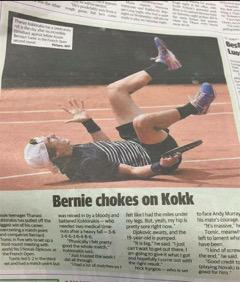 Was the sub-editor on this Australian paper punching the air after this one? http://t.co/xPpL8cP8xy