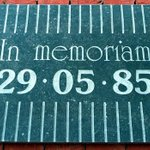 Today, 30 years after the Heysel Stadium disaster, we remember the 39 fans who died. http://t.co/BGsMuhPury http://t.co/2COppZN9jT
