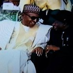 GEJ: All this people for you sir? GMB: Youre still my chairman sir GEJ: ah so No kirikiri? GMB: Its a joking Stulvs http://t.co/rBWr8ZSe4Y