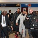 Grammy-nominated R&B singer @TreySongz arrived at Hosea Kutako International Airport in Windhoek last night. http://t.co/ZuYB6lvpOl