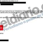 DOCUMENTO | El correo en el que un directivo de Banco Santander ordenaba destruir pruebas http://t.co/TF7HRXFeyk http://t.co/xRJqMHkf5c