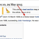 Someone gave Sepp Blatter a new job title on Wikipedia... http://t.co/R9stzu1lru http://t.co/wd4fvTF60F