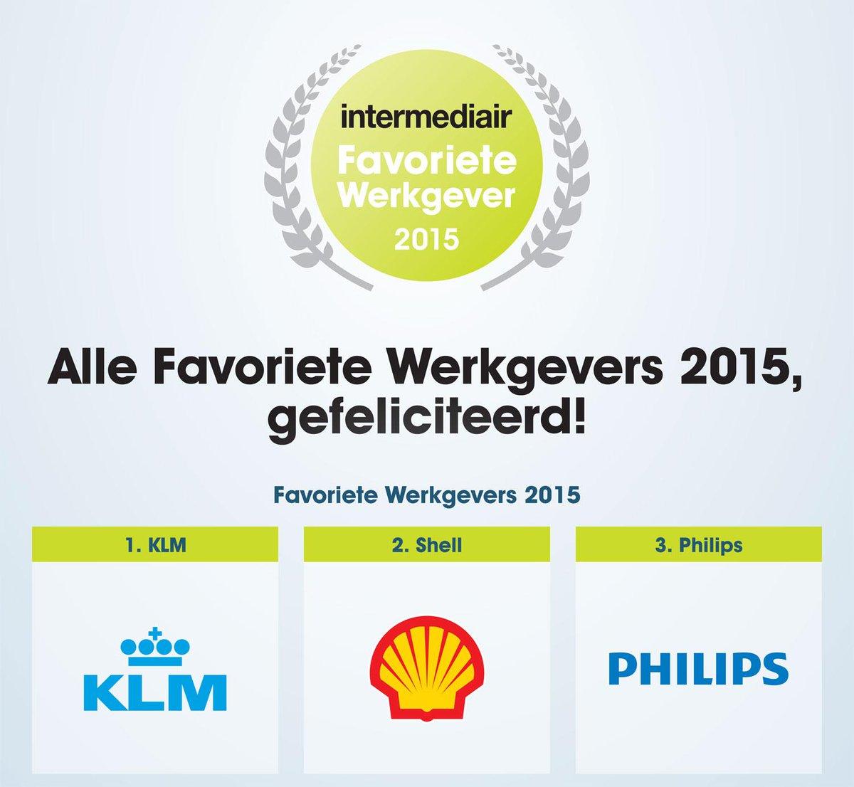 KLM is uitgeroepen tot werkgever van 2015. Wat een leuk nieuws!
