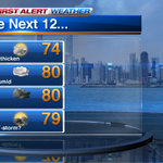 Warm & humid & windy today. Add to that, t-storm chances increase thru the afternoon #Chicago http://t.co/E4h1FELEHA