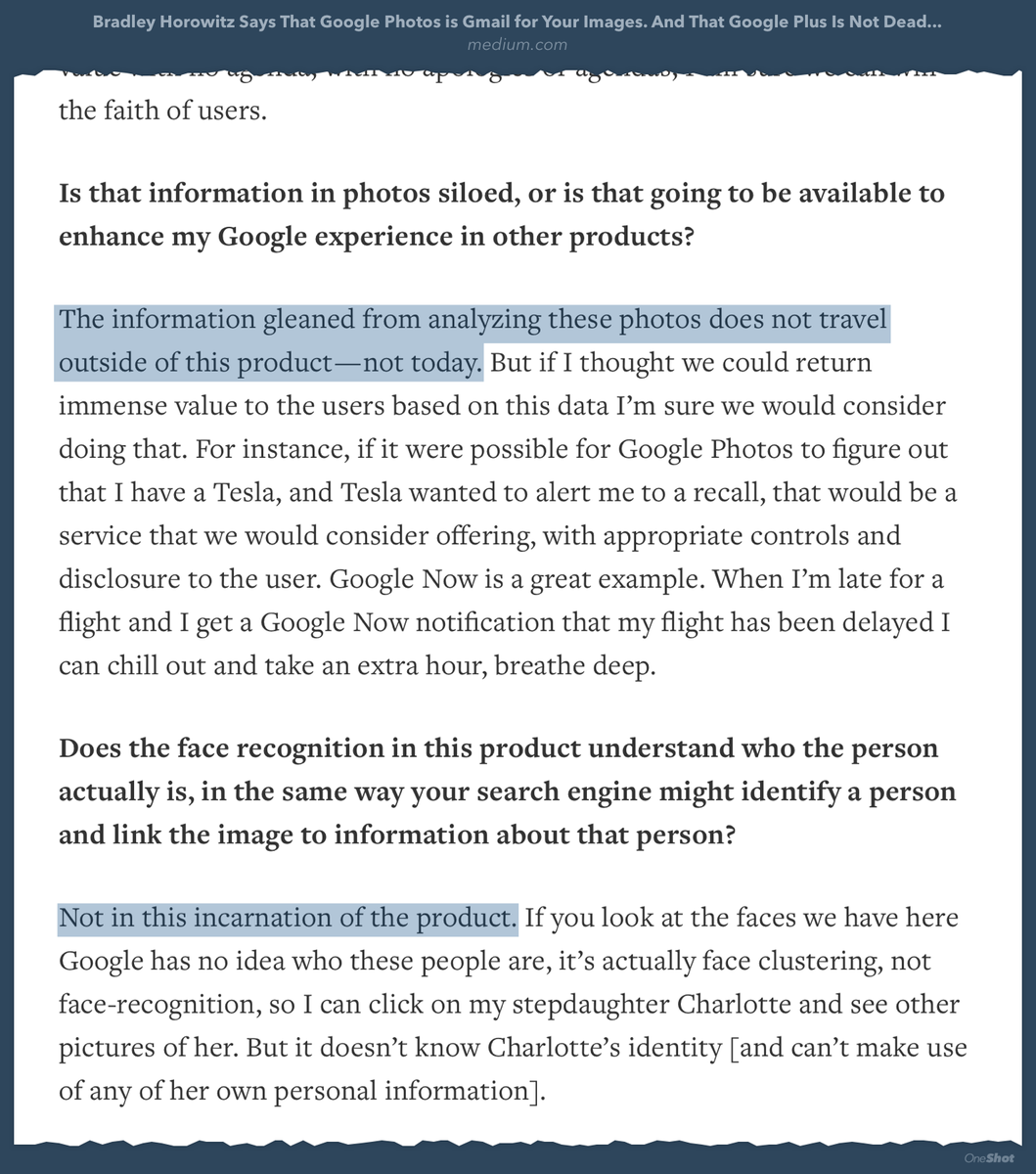 Why don't I trust Google with my photos? See attached.  https://t.co/nBiWI0p43r http://t.co/ZZl8HuRvO9