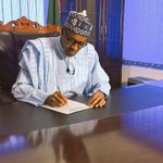 Meet President Muhammadu #Buhari, the newly elected President of #Nigeria. 👏🏽👏🏽👏🏽 http://t.co/IJDfOuU3Lk
