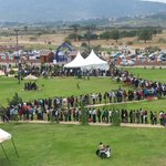 Current situation at the Machakos Peoples Park as thousands turn up for job interviews. @DrAlfredMutua #xaba http://t.co/r4cJpbUZrb